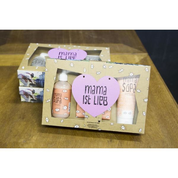 MAMA SOPA shiny orange giftset 3 items