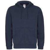 Full zip hooded men's sweatshirt