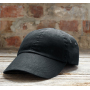 Anvil Cap Low-Profile Brushed Twill black OSFA