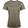 Functioneel damessportshirt olive xl