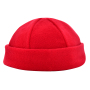 6 Panel Kinder Wintermuts Rood acc. Rood