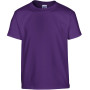 Heavy cotton™ classic fit youth t-shirt purple 5/6 (s)