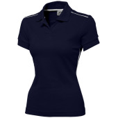Backhand dames polo met korte mouwen - Navy - XXL