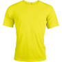 Functioneel sportshirt fluorescent yellow 3xl
