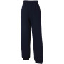 Kids classic elasticated cuff jog pants (64-051-0) deep navy 7/8