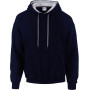 Heavy blend™ classic fit adult contrast hooded sweatshirt navy / sport grey l