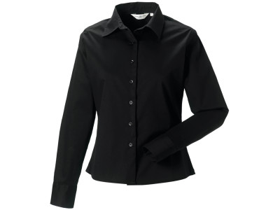 Ladies' long sleeve classic twill shirt