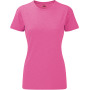 Ladies' hd t pink marl xl