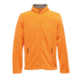 Adamsville Full Zip Fleece 3XL Sun Orange/Smokey