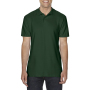 Gildan Polo Double Pique Softstyle for him forest green 3XL