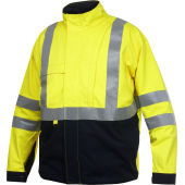 8404 LINED FLAME RETARDANT HIGH VISIBILITY JACKET