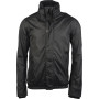 Jas met fleecevoering black / dark grey m