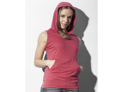 Cecilia Women's Sleeveless Hooded T-Shirt