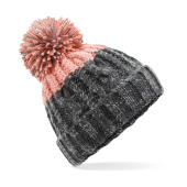 Apres Beanie - Graphite Grey/Blush