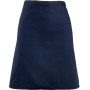 'colours' mid length apron navy one size
