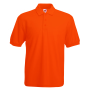 65/35 Pique Polo Orange S