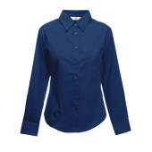 Poplin Shirt Long Sleeve Lady-Fit