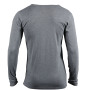 Men's Shirt Long-Sleeved heather-grijs