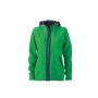 Ladies' Hooded Jacket varengroen/navy