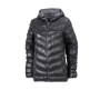 Ladies' Down Jacket zwart/grijs