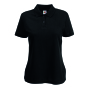 65/35  Lady-Fit Polo Black XXL