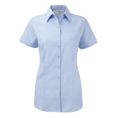 Ladies S/S Herringbone Shirt
