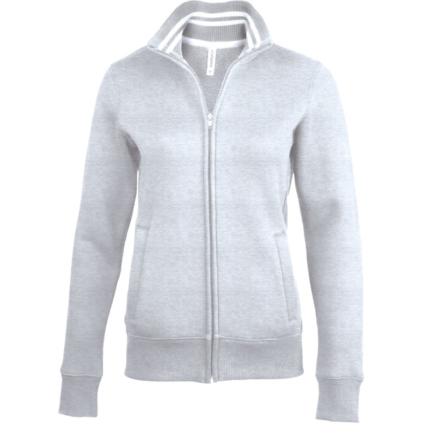 Ladies' full zip sweat jacket