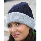 Double Layer Knitted Hat