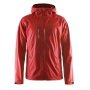 Aqua Rain Jacket men bright red xl