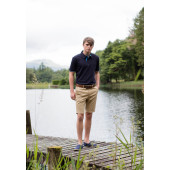Mens stretch chino shorts