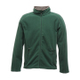 Adamsville Full Zip Fleece S Bottle Green/Smokey