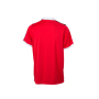 V-Neck Team Shirt rood/wit/zwart