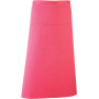'colours' bar apron fuchsia one size