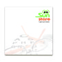 BIC® 75 mm x 75 mm 25 Sheet Recycled Adhesive Notepads