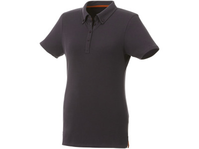 Atkinson button-down dames polo met korte mouwen
