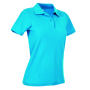 Stedman Polo SS for her ocean blue M