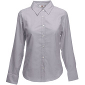 Lady-fit long sleeve oxford shirt (65-002-0)