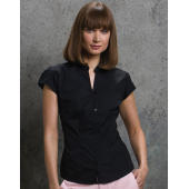Continental Blouse Mandarin Collar