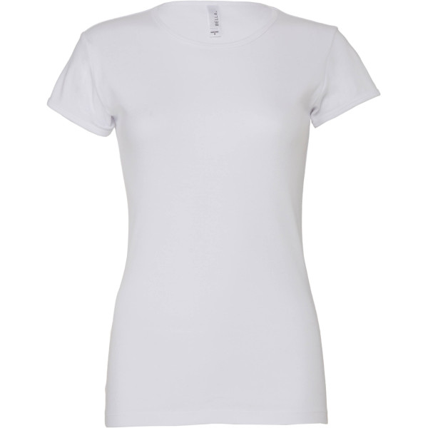 Women's baby rib short sleeve tee