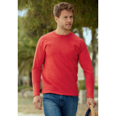 Valueweight long sleeve t (61-038-0) royal blue xxl