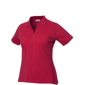 Alba polo pique ds 190 g/m² rood s