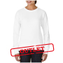 Anvil Sweater Crewneck French Terry for her White-35% korting XXL