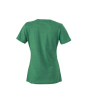Ladies' Heather T-Shirt groen-melange