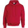 Heavy blend™ classic fit adult hooded sweatshirt cherry red xl