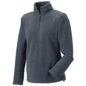 1/4 zip outdoor fleece convoy grey l