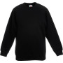 Kids raglan sweat (62-039-0) black 3/4