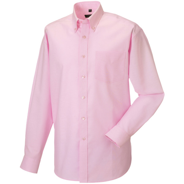 Mens' long sleeve easy care oxford shirt