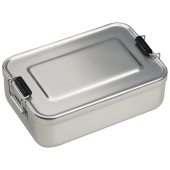 Lunchbox of broodtrommel van alumninium