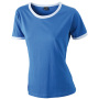 Ladies` Flag-T royal/wit