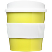 Americano® primo 250 ml beker met grip - Lime/Wit